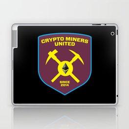 Crypto Miners United Laptop & iPad Skin