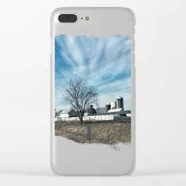 Midwest Farmstead Clear iPhone Case