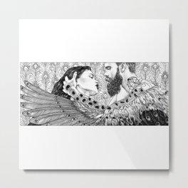 asc 794 - Les brûlants (Burning in devotion) Metal Print