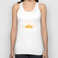 the breakfast club Tank Tops featuring Breakfast by carbine