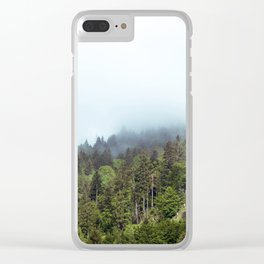 Whispering Forest Clear iPhone Case