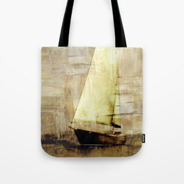 big sailboat Tote Bag