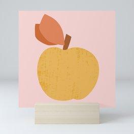 Yellow Apple Mini Art Print