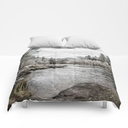 Wintry River Comforters