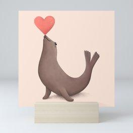 Seal of Approval Mini Art Print