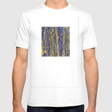 Splat SMALL White Mens Fitted Tee