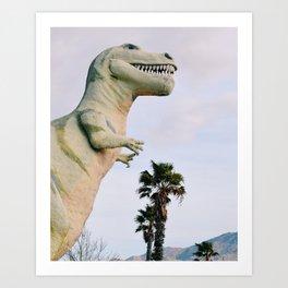 Dino Dino Dino Art Print