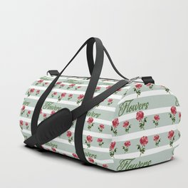 flowers that deliver love Duffle Bag