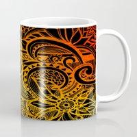hakuna Mugs featuring Hakuna Matata by Doodle Design