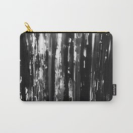 Black, White, and Sometimes Gray Carry-All Pouch