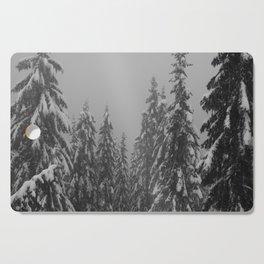 Snow Trees Cutting Board