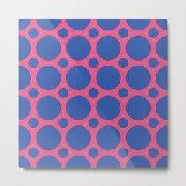 TriColor Pattern Metal Print