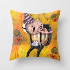 No Strings Attached Print~! Throw Pillow