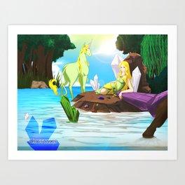 Crystalis Art Print