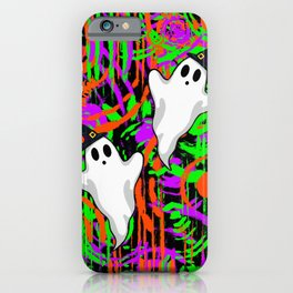 Ghosts Wearing Witch Hats iPhone Case