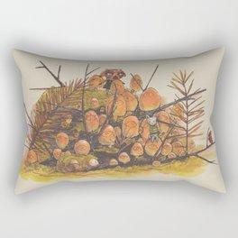 From None Rectangular Pillow