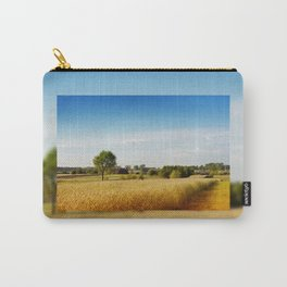 Rural wheat field view Carry-All Pouch