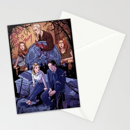 Conversations With Dead People Stationery Cards