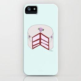 R O S E S  CAKE iPhone Case