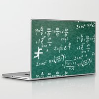 math Laptop & iPad Skins featuring Math Equations by WIGEGA