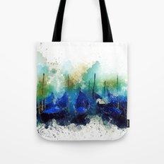 Venice Gondola painting Tote Bag