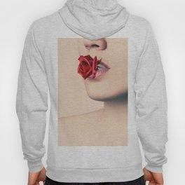 Red Rose Lips Hoody