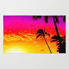 Sunset on Waikiki Rug