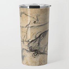 Aurignacian Art Travel Mug