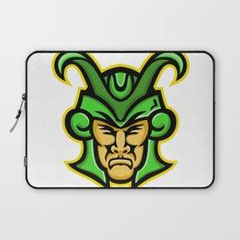 Loki Norse God Mascot Laptop Sleeve