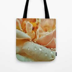 Rainy Rose Tote Bag