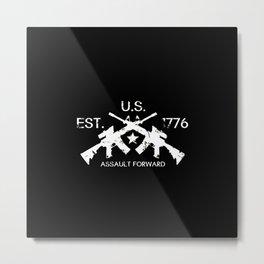M4 Assault Rifles - U.S. Est. 1776 Metal Print