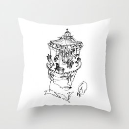 The People Eater Throw Pillow
