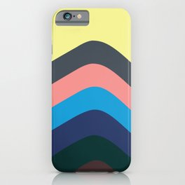 California Retro Waves: Skate, Surf & Sand iPhone Case