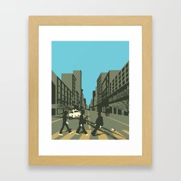 Abbey Road Reloaded Framed Art Print