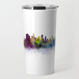 Los Angeles City Skyline HQ v3 Travel Mug