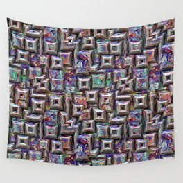 Colorful 3D Abstract Structure Wall Tapestry