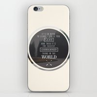 paper towns iPhone & iPod Skins featuring Paper Towns: It's so hard to leave by karifree