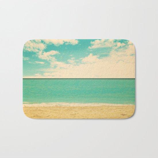 Retro Beach Bath Mat