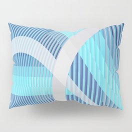Resonance (blue-aqua) Pillow Sham