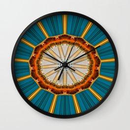 Merging Colours IIII Wall Clock