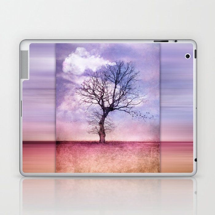 ATMOSPHERIC TREE | Early Spring Laptop & iPad Skin