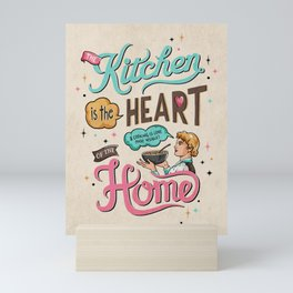 The Heart Of The Home Mini Art Print