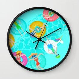 LazyRiver Summer Wall Clock