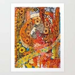 Goldspot | Limited Edition of 50 Prints Art Print