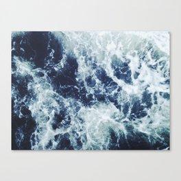 Dark blue Ocean Canvas Print