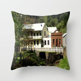 Stringer's Creek - Walhalla - Australia Throw Pillow