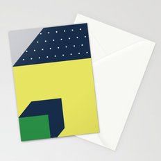 2d illusion Stationery Cards