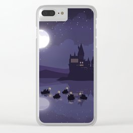 1st Year Arrivals Clear iPhone Case