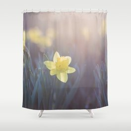 Time for Daffodils Shower Curtain