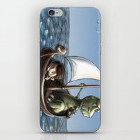 voyage iPhone & iPod Skins featuring Voyage by Allan McInnes